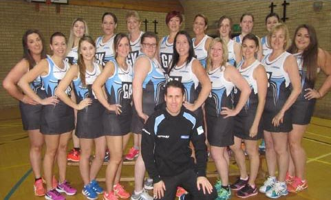 Play netball in Coxhoe at Coxhoe Leisure Centre