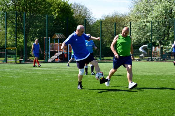 Gym, Fitness Classes, Football, Walking Football, Netball